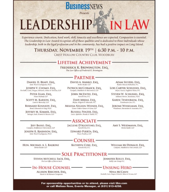 leadership in law